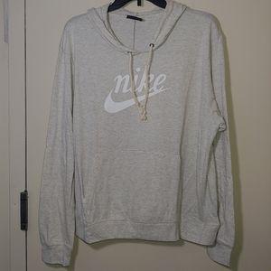 Nike Women's Vintage Hoodie Thin Top Size 1X